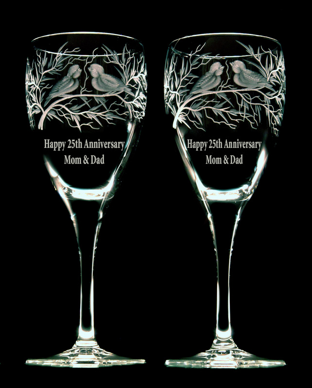 Vancouver Engraving And Anniversary Gifts Glasses Vases Candle